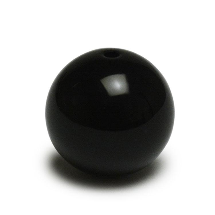プラスチックパーツ / アクリル 丸玉(606) / BK / 16mm