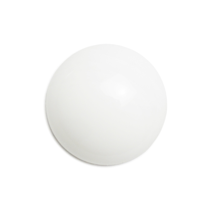 プラスチックパーツ / アクリル 平半丸(643) / CW / 約12mm
