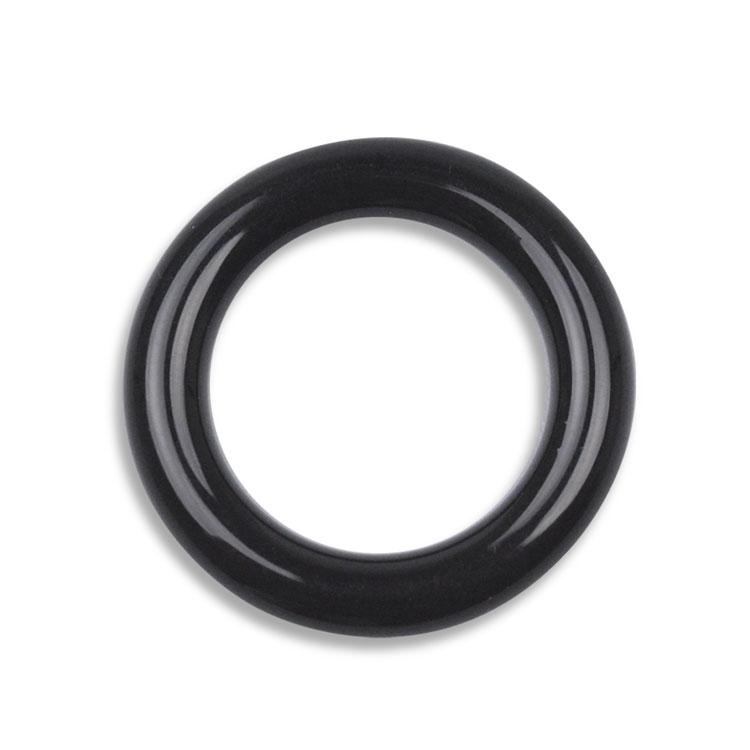 プラスチックパーツ / アクリル フープ(733) / BK / 約25mm