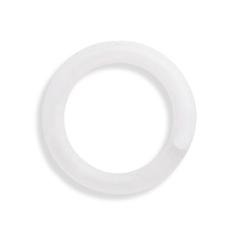 プラスチックパーツ / アクリル フープ(フロスト・815) / CRB / 約25mm