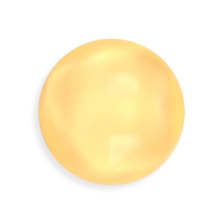 プラスチックパーツ / アクリル(貼付用)/ 変形半丸(830) / 2 / 約20mm
