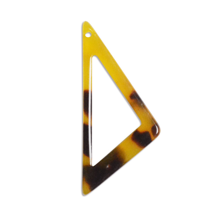 プラスチックパーツ / アクリル トライアングルフープ(トップホール・596) / 01 / 約27×12mm