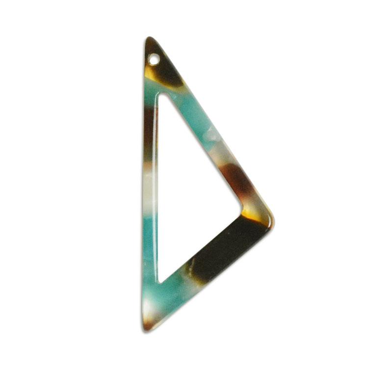 プラスチックパーツ / アクリル トライアングルフープ(トップホール・596) / 04 / 約27×12mm