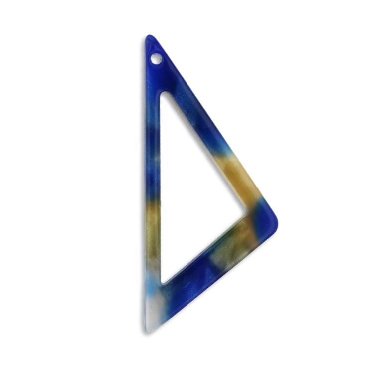 プラスチックパーツ / アクリル トライアングルフープ(トップホール・596) / 06 / 約27×12mm