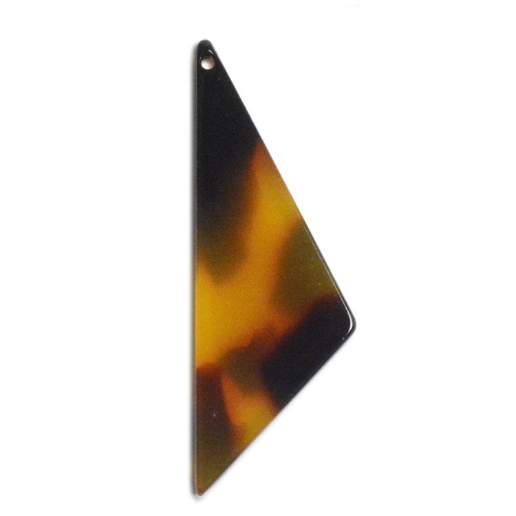 プラスチックパーツ / アクリル トライアングル(トップホール・597) / 01 / 約33×12mm