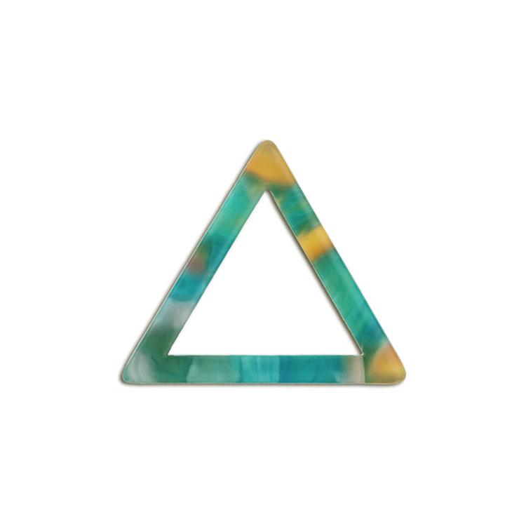 プラスチックパーツ / アクリル トライアングルフープ(599) / 05 / 約16×18mm