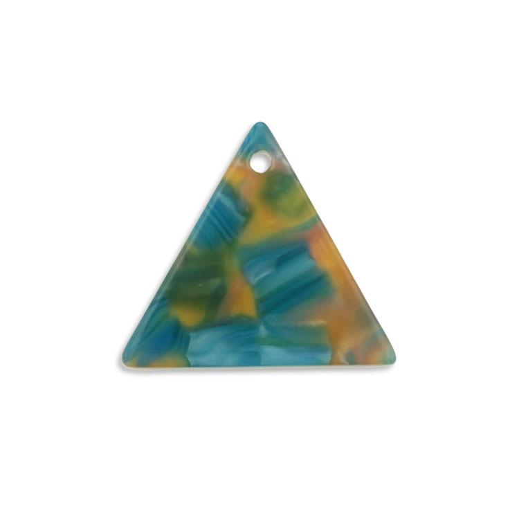 プラスチックパーツ / アクリル トライアングル(トップホール・604) / 04 / 約19mm