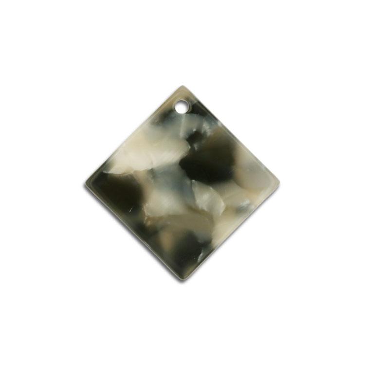 プラスチックパーツ / アクリル スクエア(トップホール・606) / 01 / 約15×15mm