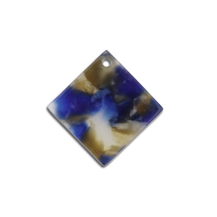 プラスチックパーツ / アクリル スクエア(トップホール・606) / 03 / 約15×15mm