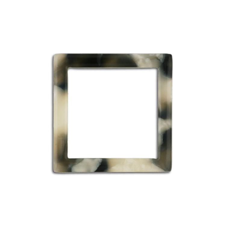 プラスチックパーツ / アクリル スクエアフープ(607) / 01 / 約20×20mm