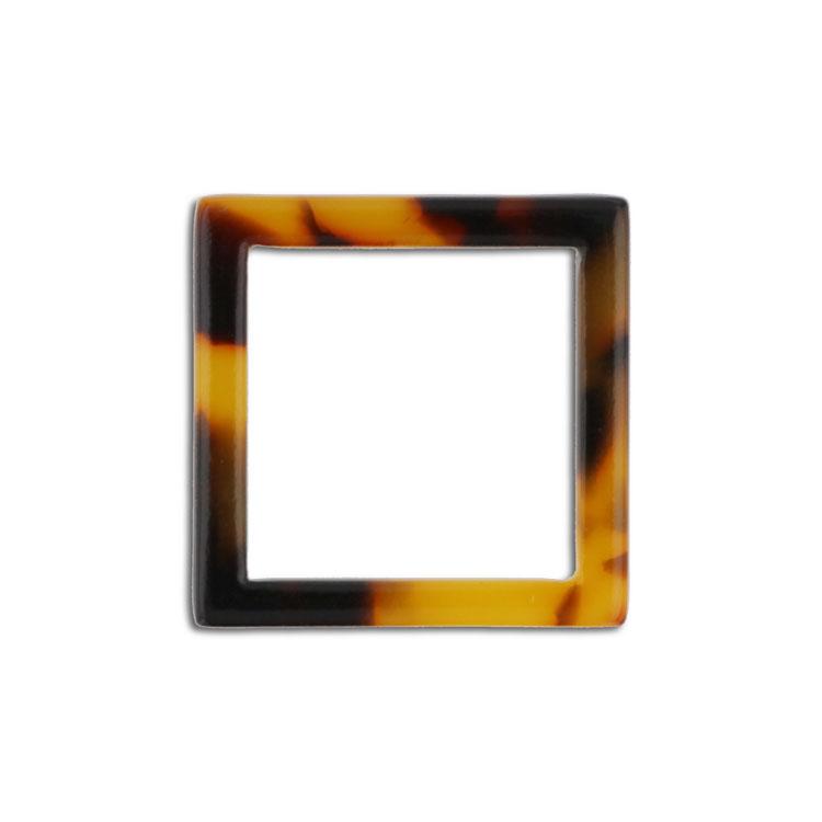プラスチックパーツ / アクリル スクエアフープ(607) / 02 / 約20×20mm