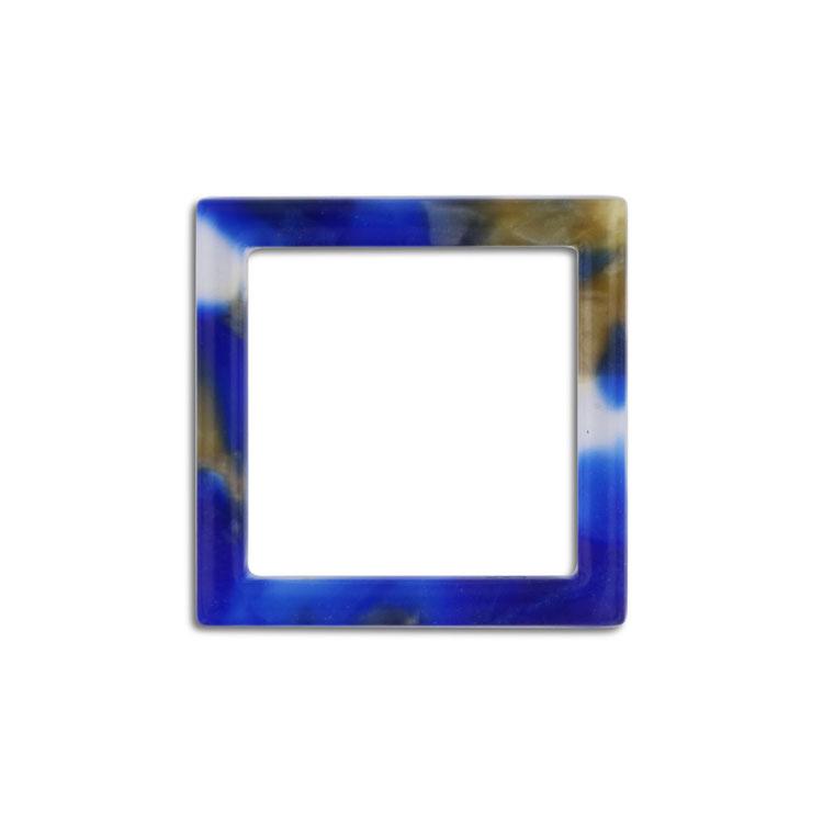 プラスチックパーツ / アクリル スクエアフープ(607) / 03 / 約20×20mm