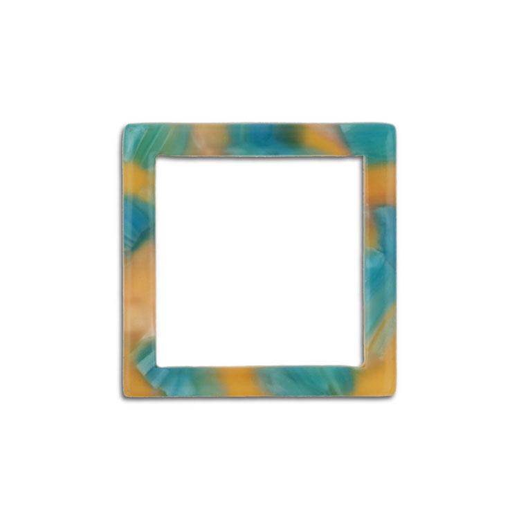 プラスチックパーツ / アクリル スクエアフープ(607) / 04 / 約20×20mm