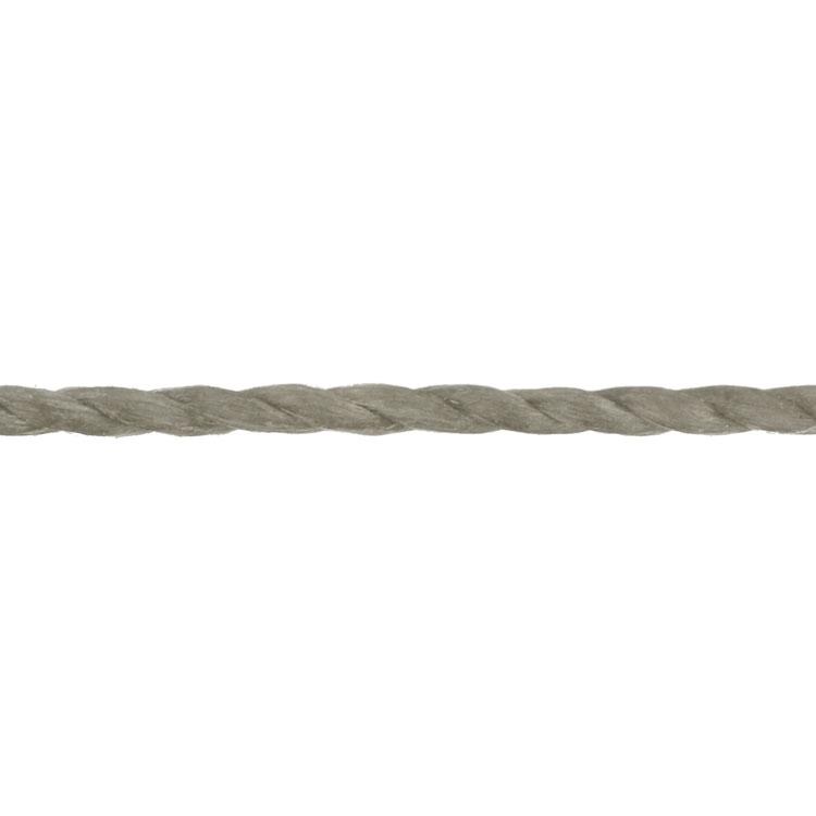 LINHASITA社製 ワックスコード / シルバーグレイ / 0.75mm / 20m