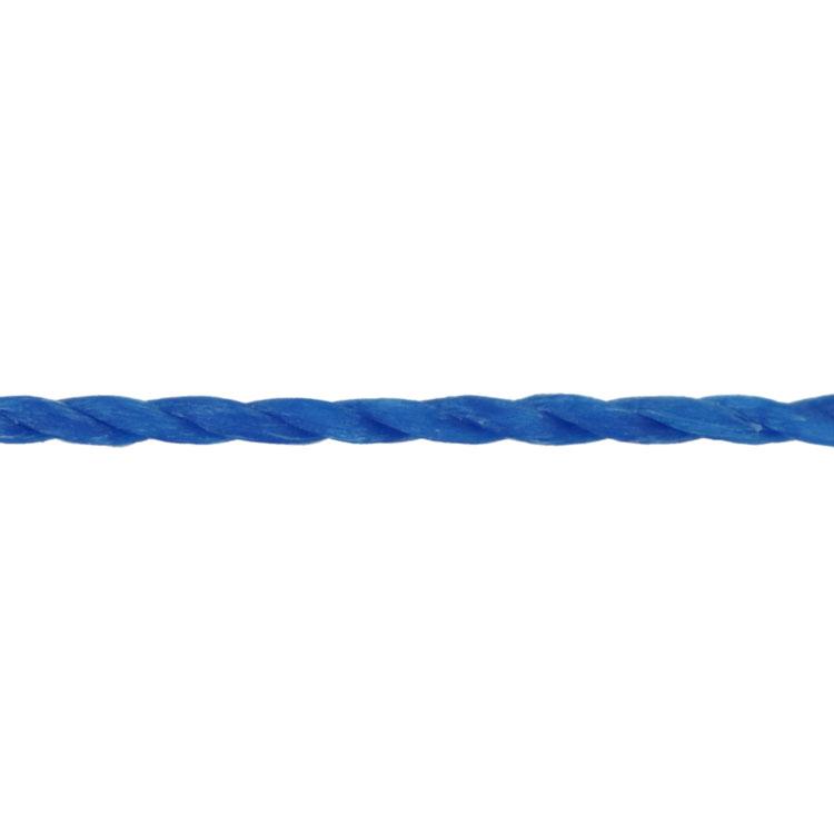 LINHASITA社製 ワックスコード / ブルー / 1mm / 20m