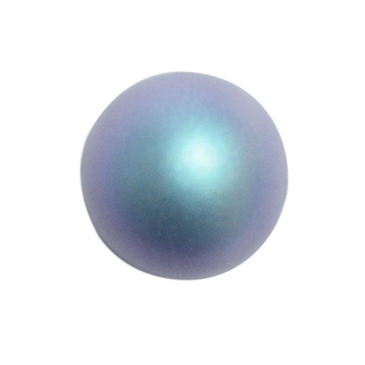 スワロフスキー・クリスタル#5810 イラデサントライトブルー(パール) 6mm