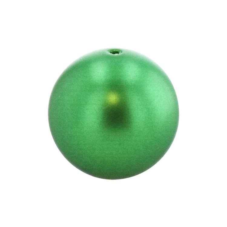 スワロフスキー・クリスタル#5810 クリスタル・エデン・グリーン・パール 4mm