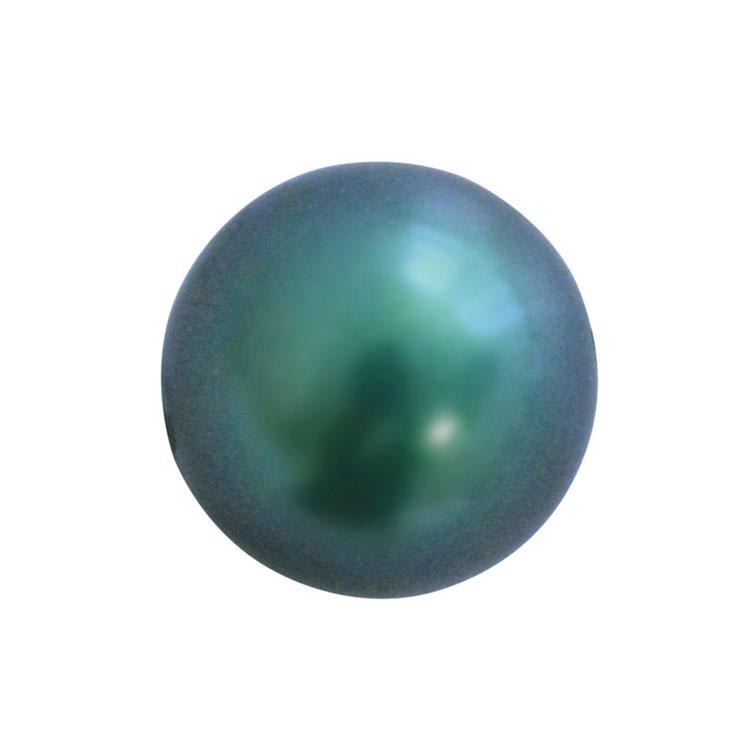 スワロフスキー・クリスタル#5810 クリスタル・イラデサント・タヒチアンルック・パール 6mm