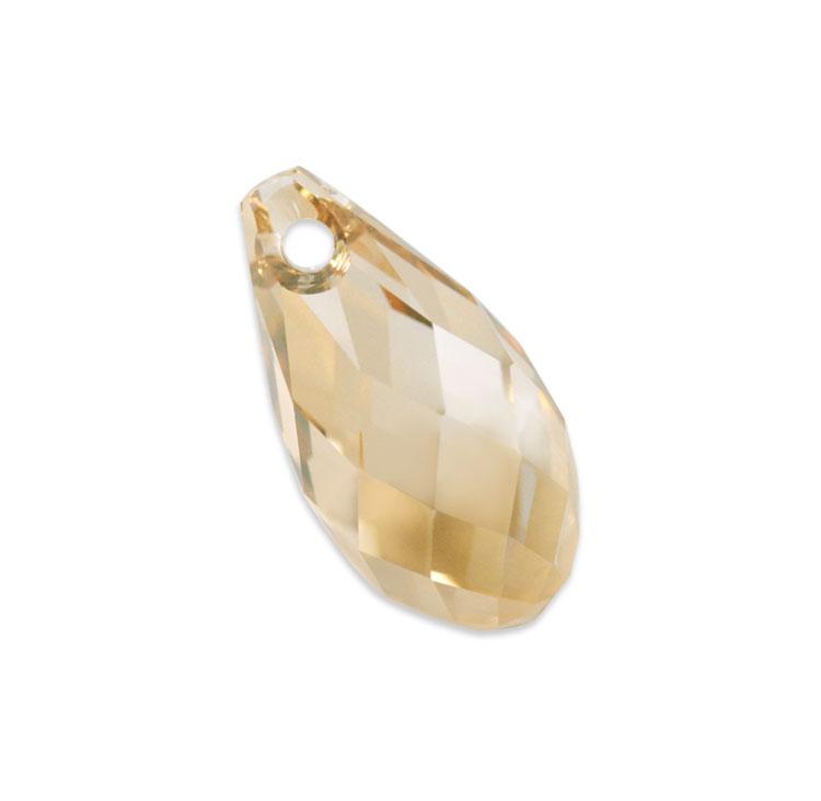 スワロフスキー・クリスタル#6010 クリスタルゴールデンシャドー 11×5.5mm