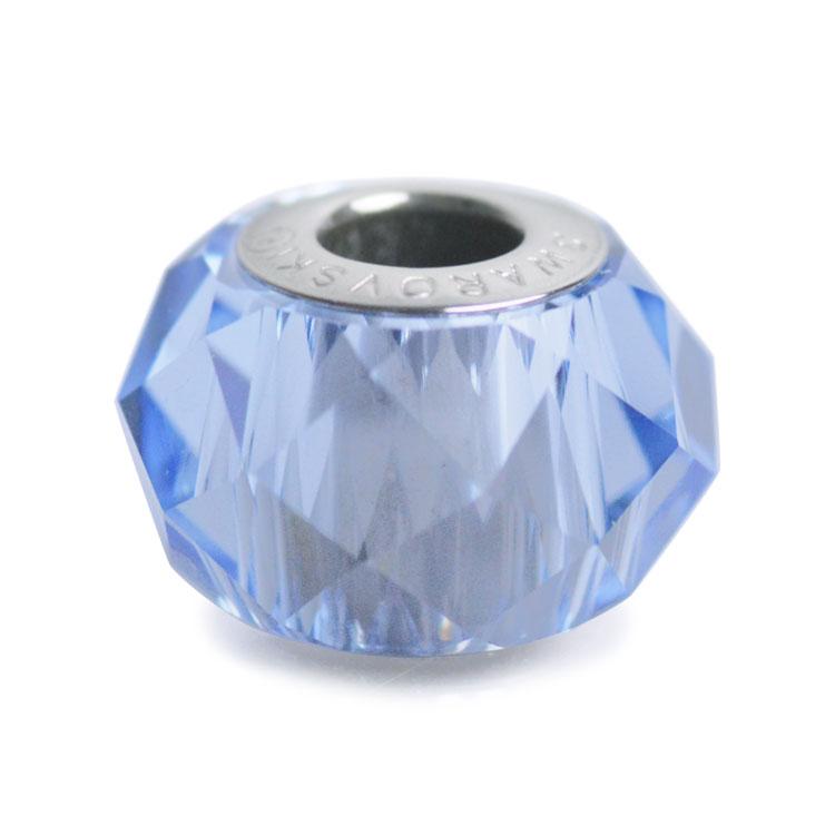 スワロフスキー・クリスタル#5948 ライトサファイヤ 14mm