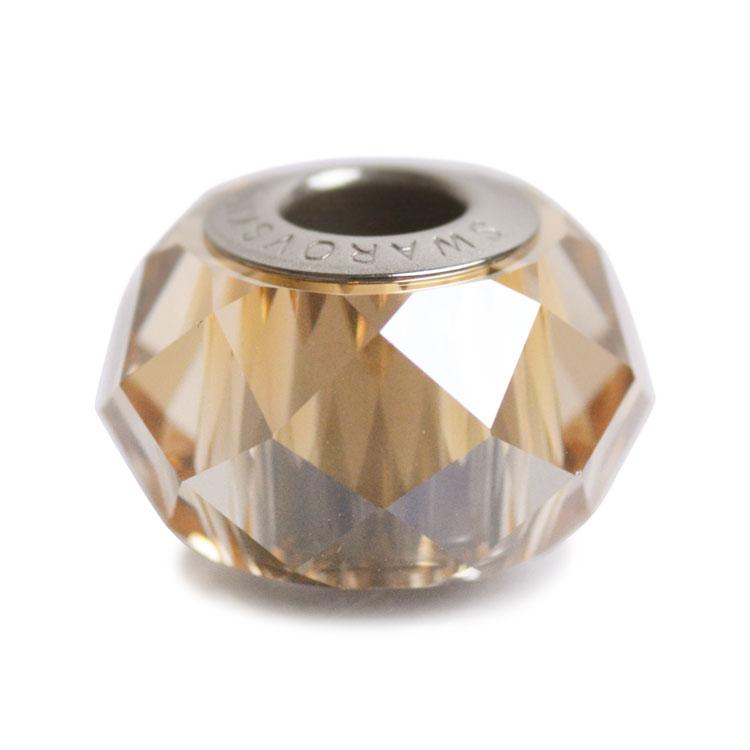 スワロフスキー・クリスタル#5948 クリスタルゴールデンシャドー 14mm