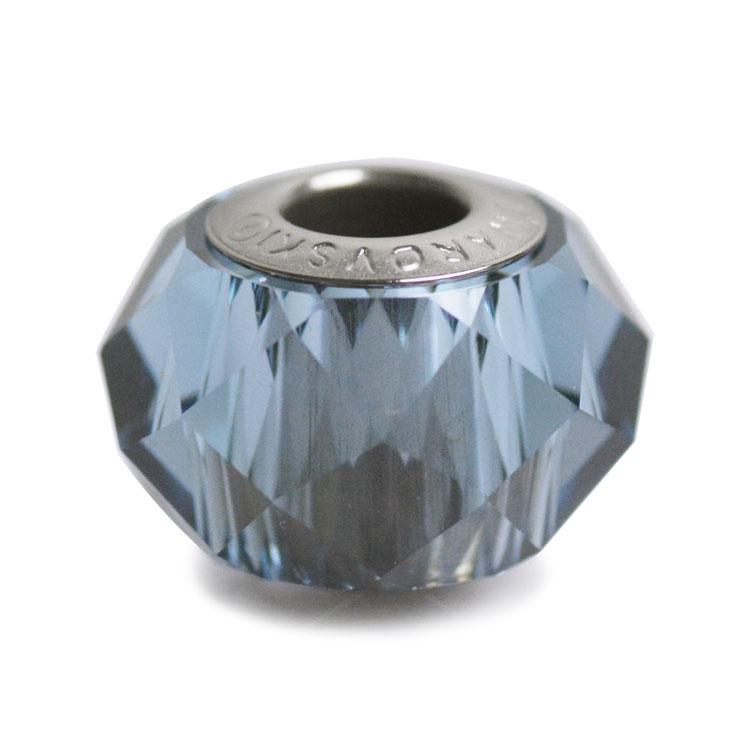 スワロフスキー・クリスタル#5948 デニムブルー 14mm