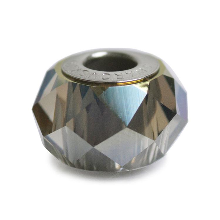 スワロフスキー・クリスタル#5948 クリスタルイラデサントグリーン 14mm