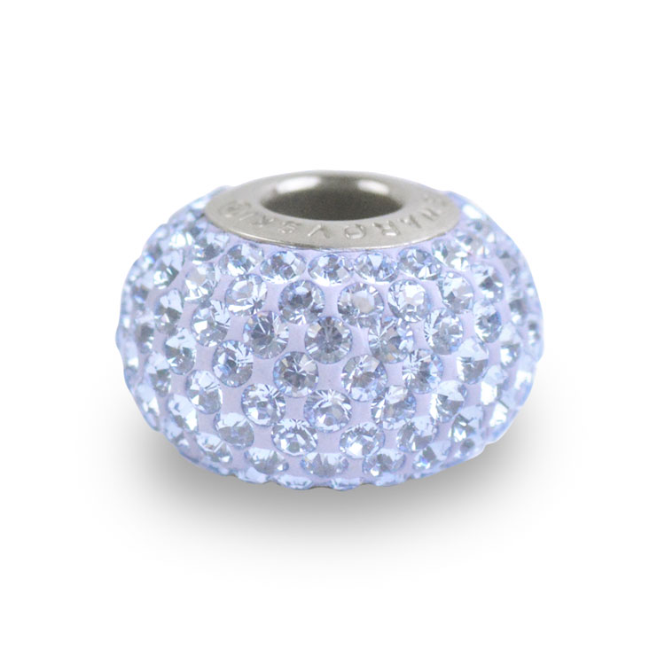 スワロフスキー・クリスタル#80 101 ライトサファイヤ 14mm