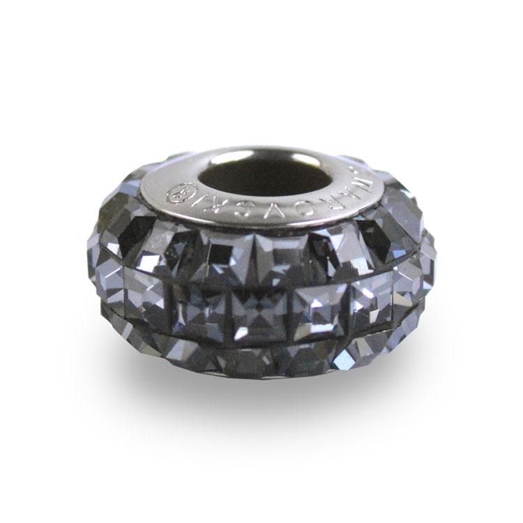 スワロフスキー・クリスタル#81 201 クリスタルシルバーナイト 13mm