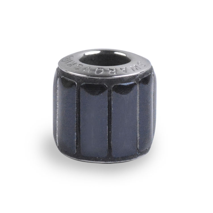 スワロフスキー・クリスタル#80 801 ブラック ポリッシュ 9.5mm