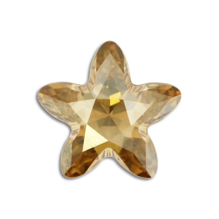 スワロフスキー・クリスタル#4754 クリスタルゴールデンシャドー 13×13.5mm