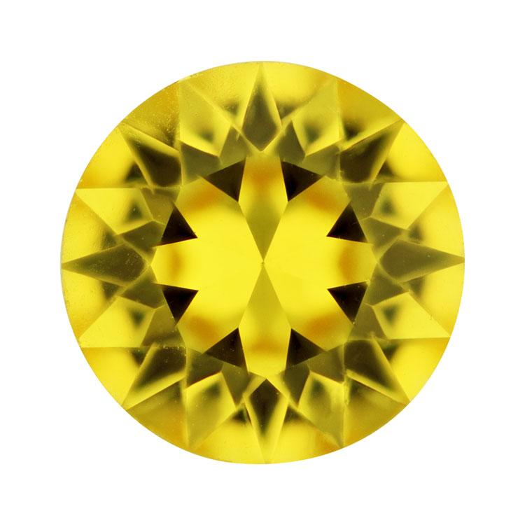 スワロフスキー・クリスタル#1088 ライトトパーズ 約4mm
