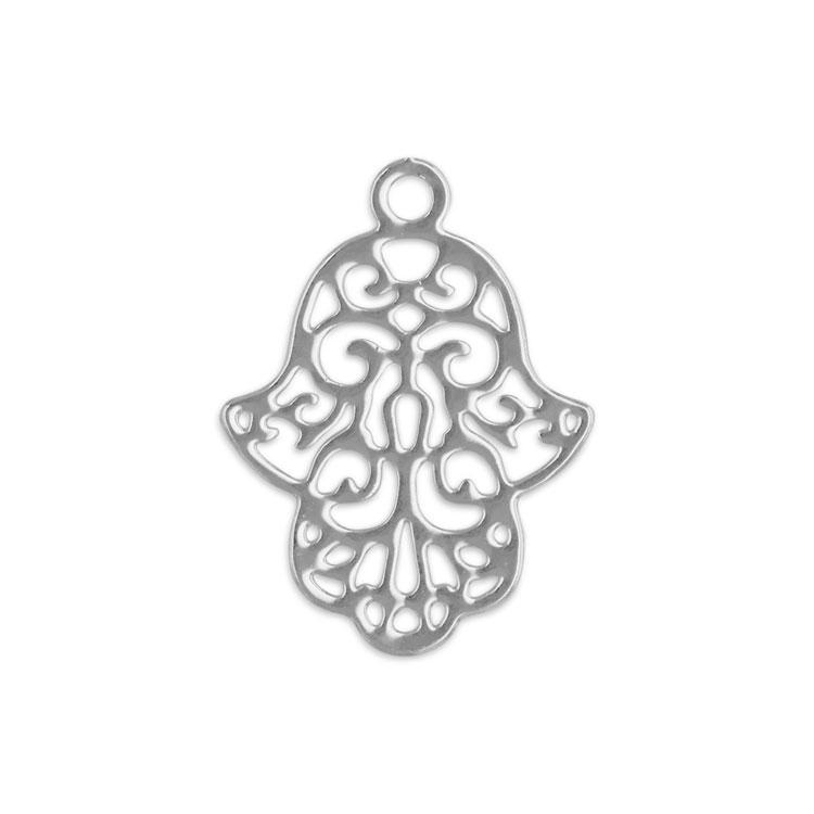 透かしパーツ(ハムサの手・3096) / R