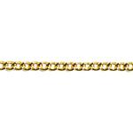 チェーン(004) / ライトゴールド / 100cm
