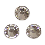 貼り付けカットガラス / ラウンド / クリア / 約5mm
