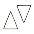 メタルフープ(三角/1549) / R / 約25×20mm