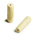 天然石 / チューブ / リバーストーン / 約13×4mm