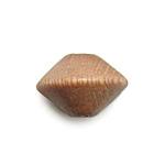ウッドビーズ / ソロバン型(877)/ ライトブラウン