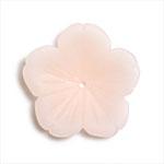 プラスチックパーツ / アクリルフラワー 5弁花(630) / PK / 約13mm