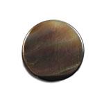 シェルパーツ / コイン(通し穴有り) / 黒蝶貝 / 約10mm