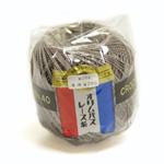 レース糸 / 金票#40 / 単色・スモーキーブラウン(#455) / 10g玉巻