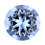 スワロフスキー・クリスタル#1088 ライトサファイヤ 約6mm